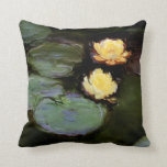 Water-Lilies: 1897-98 by Monet Pillow