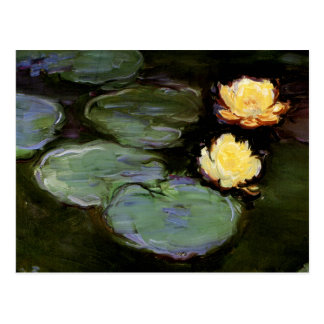 Water-Lilies 1897-98 by Monet Postcard