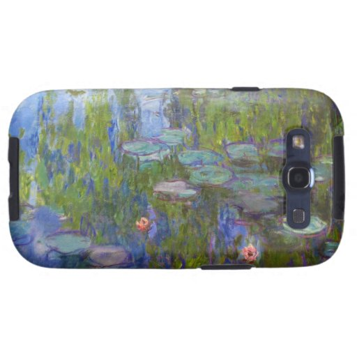 Water Lilies, 1915 Claude Monet cool, old, master, Galaxy SIII Cover