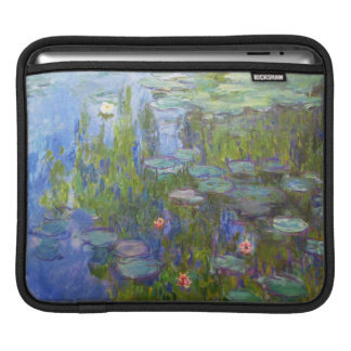Water Lilies, 1915 Claude Monet cool, old, master, iPad Sleeves