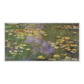 Water-Lilies, 1915; oil on canvas Poster