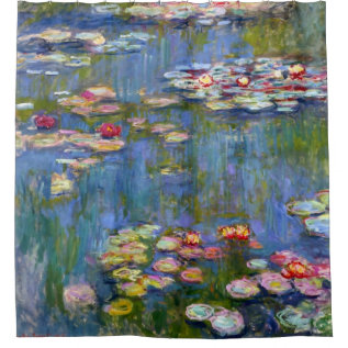 Water Lilies 1916 By Claude Monet Shower Curtain at Zazzle