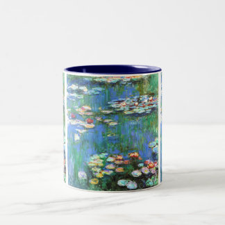 Water Lilies 1916 Claude Monet Fine Art Two-Tone Coffee Mug