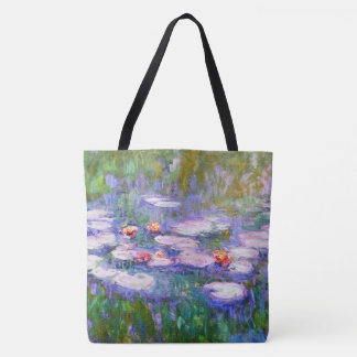 Water Lilies 1919 Claude Monet Fine Art Tote Bag