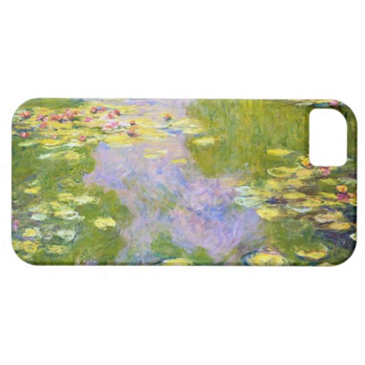 Water Lilies, 1919  Claude Monet iPhone 5 Cover