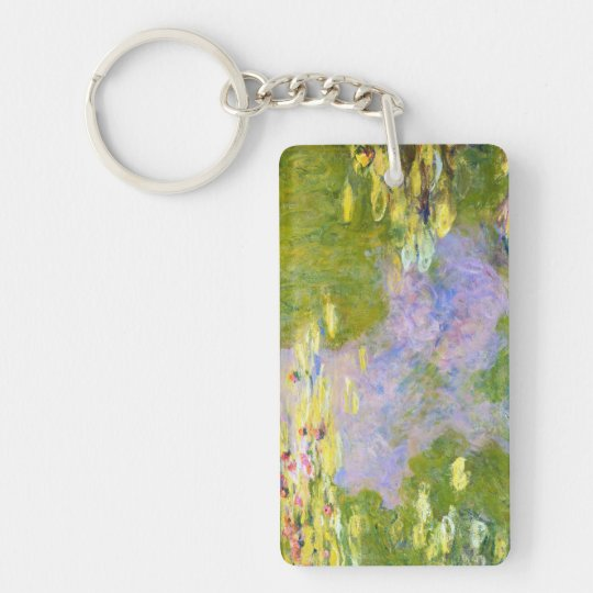Water Lilies, 1919  Claude Monet Keychain