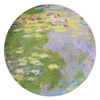 Water Lilies, 1919  Claude Monet Dinner Plate