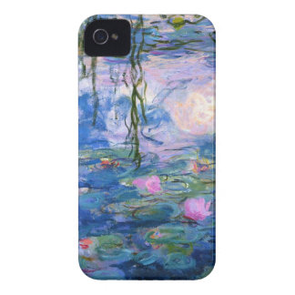 Water Lilies 1 iPhone 4 Case-Mate Cases