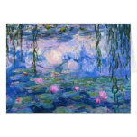 Water Lilies 1 Greeting Cards