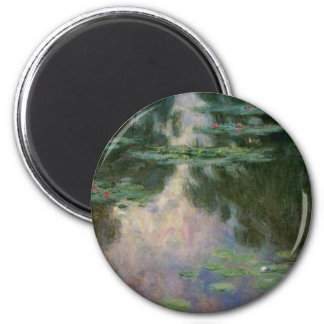 WATER LILIES 1 MAGNET