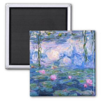 Water Lilies 1 Refrigerator Magnets