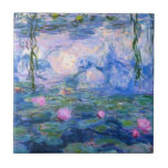 Water Lilies 1 Small Square Tile