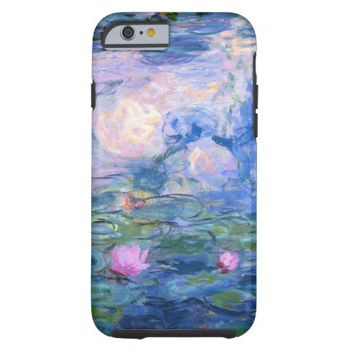 Water Lilies 1 Tough iPhone 6 Case