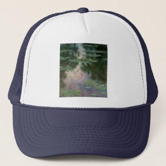 WATER LILIES 1 TRUCKER HAT