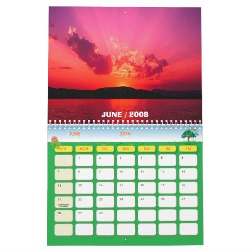 Water lilies, 2008 calendar