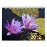 Water Lilies 2012 Wall Calendar