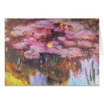 Water Lilies 3 Cards