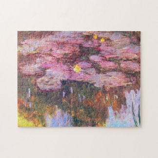 Water Lilies 3 Jigsaw Puzzle