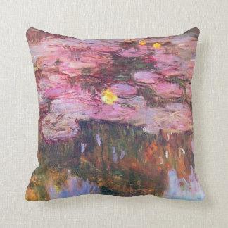 Water Lilies 3 Throw Pillows