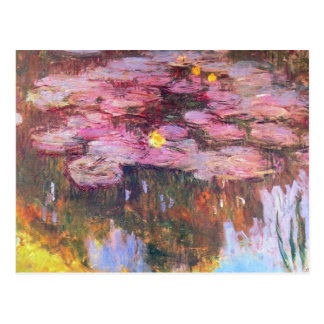 Water Lilies 3 Postcard