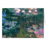Water Lilies 5 Greeting Cards