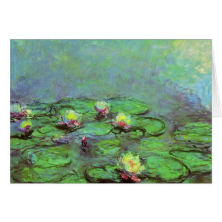 Water Lilies 7 Card
