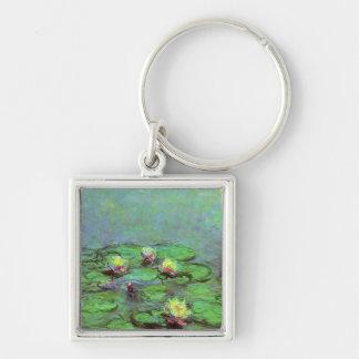 Water Lilies 7 Keychain