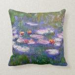 Water Lilies 8 Pillow