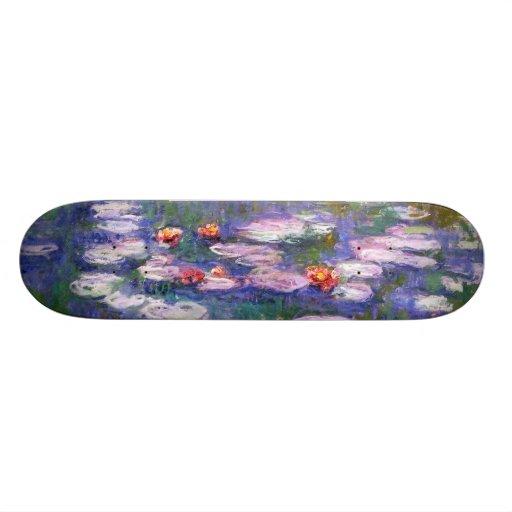 Water Lilies 8 Skate Deck