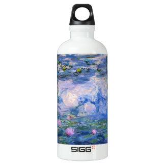 Water Lilies Aluminum Water Bottle