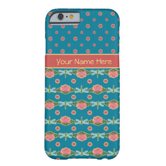 Water Lilies and Dragonflies Slim iPhone 6 Case