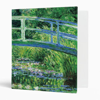 Water Lilies and Japanese Bridge Monet Fine Art Binder