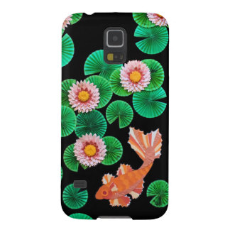 Water Lilies and Koi Fish Phone Case