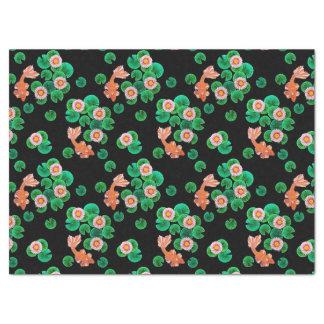 "Water Lilies and Koi Fish Tissue Paper 17"" X 23"" Tissue Paper"