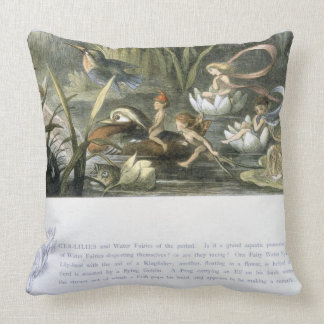 Water-Lilies and Water Fairies, illustration from Pillow