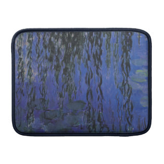 Water Lilies and Weeping Willow Branches -  Monet MacBook Sleeve