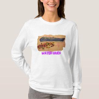 water lilies art T-Shirt