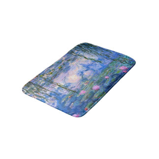 Water Lilies Bathroom Mat