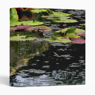 Water Lilies Binder