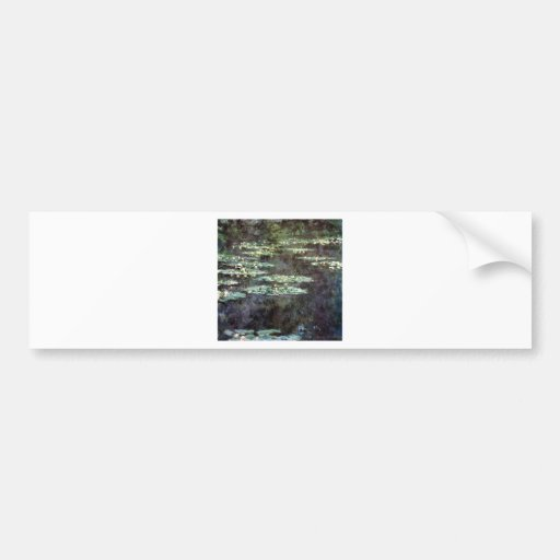 Water Lilies Bumper Stickers