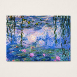 Water Lilies Business Card