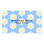 Water Lilies. Business Card