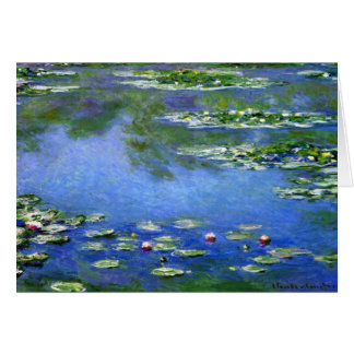 Water Lilies by Claude Monet Greeting Card