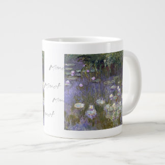 Water Lilies by Claude Monet Giant Coffee Mug