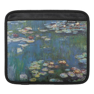 Water lilies by Claude Monet,impressionist painter iPad Sleeve