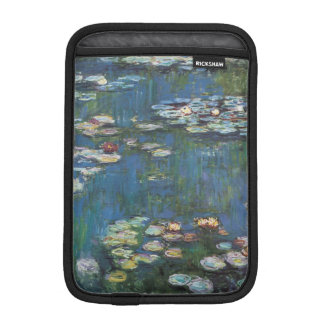 Water lilies by Claude Monet,impressionist painter Sleeve For iPad Mini