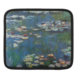 Water lilies by Claude Monet,impressionist painter Sleeve For iPads