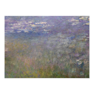 Water Lilies by Claude Monet 5.5x7.5 Paper Invitation Card