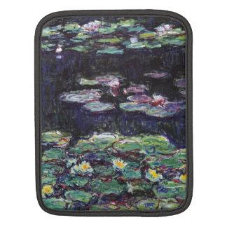 Water Lilies by Claude Monet iPad Sleeve
