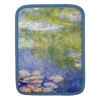 Water Lilies by Claude Monet Sleeves For iPads